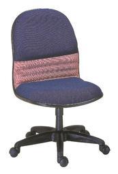 【南洋風休閒傢俱】時尚造型辦公椅系列-雙色無扶手小轉椅 JX288-7