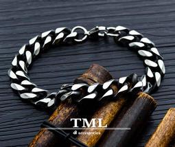 TML 鈦鋼男士手鍊 鋼手鍊 手鐲 手環 健康手鍊 磁石手鍊 (GS1017)