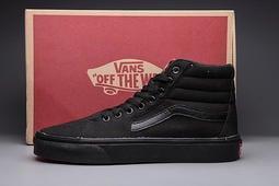 Vans SK8-HI 男女鞋 全黑 經典款 百搭 帆布鞋 休閒鞋