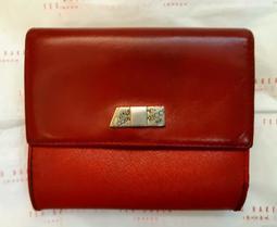 暗紅色Nina Ricci短夾(西班牙製)送CD收納袋