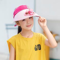 現貨 yo ki兒童風扇帽多功能太陽能遮陽防曬戶外可充電風扇帽大帽檐空頂帽