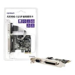 【太極數位】廣 登昌恆 Uptech AX990-1S1P 雙用擴充卡