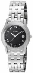 GUCCI Quartz G-Class Black Dial Man's Watch Stainless YA055302