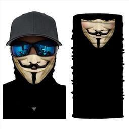【暉長豪商行】多款式造型面罩 防晒吸汗 重機單車工作路跑 騎行面罩 騎行口罩 造型圍巾 造型頭巾 防塵面罩 面巾 脖圍