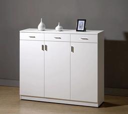 【風禾家具】FCM-342-2@純白4尺鞋櫃【台中7700送到家】收納櫃 置物櫃 玄關櫃 低甲醛木心板 北歐風 台製傢俱