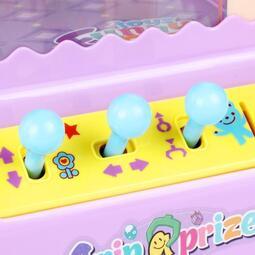 【行運精品】抓娃娃機兒童玩具迷你抓娃娃機夾公仔機投幣小型家用遊戲機抖音玩具男女孩 【】