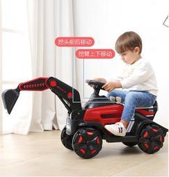 新款兒童挖機遙控挖土機玩具鉤機全電動挖臂挖掘機可坐大號挖挖機