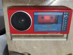 古董收音機 功能正常 錄音帶讀不太到