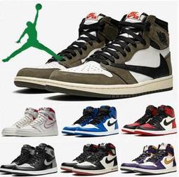NIKE/耐吉  Air Jordan1 飛人喬登高筒女鞋 AJ1倒鉤黑粉腳趾男鞋 喬丹1代休閒鞋情侶鞋運動鞋籃球鞋