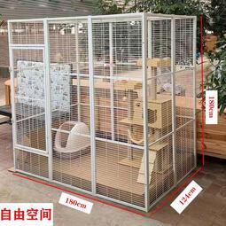 貓別墅 貓籠 超大自由空間豪華貓別墅繁殖籠子貓咪狗鴿子繁育籠可拼接寵物圍欄