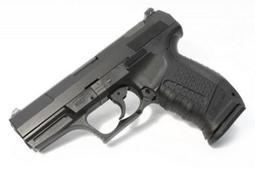 【WKT】黑色 WE P99 劈玖玖 半金屬瓦斯手槍-WEPX001B
