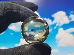 《晶華》黃水晶 黃水晶球 招財 擺件  X01