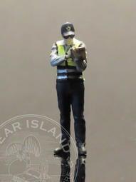 Gear Island 車島1/64人偶 波麗士 台灣警察 開罰單 測速槍 POLICE