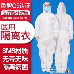 一次性防護服隔離衣連體全身醫護人員防病毒醫院防疫衣服-風采依秀