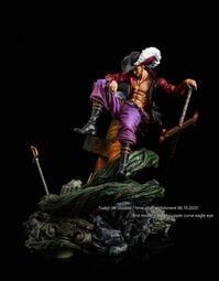[ML] [GK預購] Turbo Jet Studios工作室 海賊王 信仰-上部曲-鷹眼 師徒組合 GK雕像